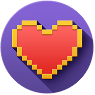 You've got heart! Icon