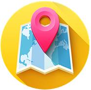 You're on the map! Icon